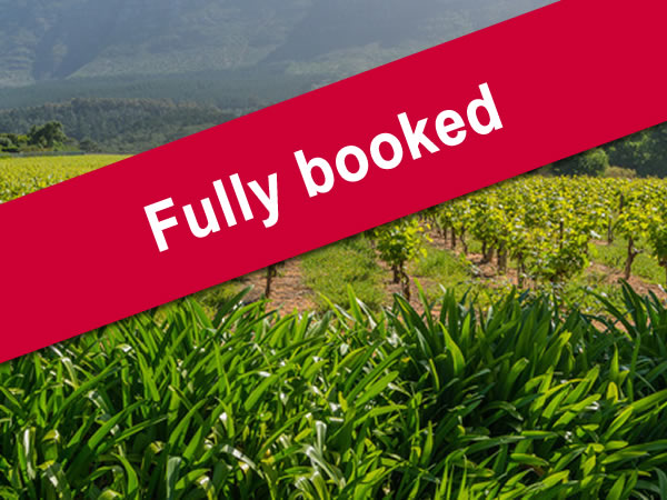 South African Wine Tour for 2018