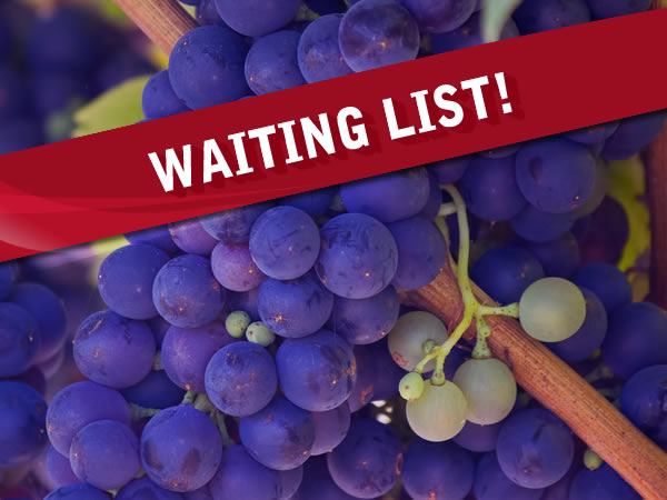 Burgundy tour waiting list