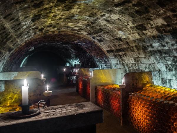 Tokaj Oremus, Hungary wine cellar