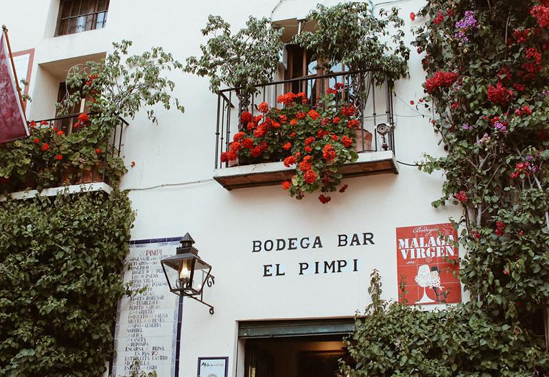 Bodega Bar El Pimpi Andalucia