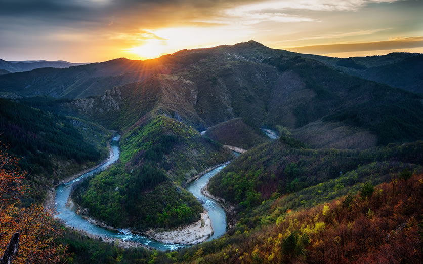 Arda river, Eastern Rhodopes, Bulgaria