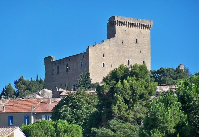 Pope John XXII's castle, Chateauneuf du Pape